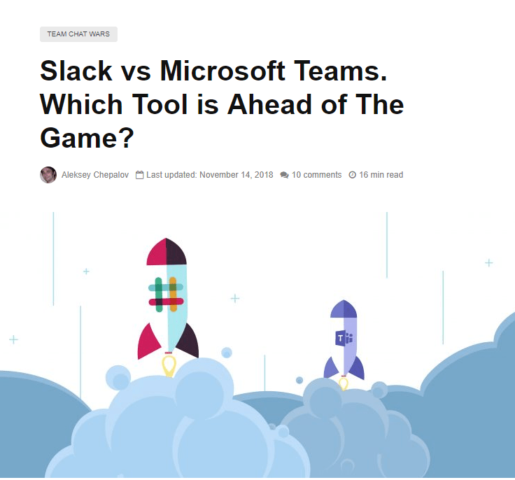 Slack vs Microsoft Teams