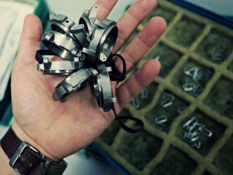 Titanium grade 5 case prototypes