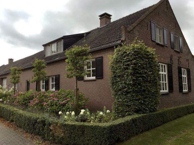 Our house in Leende was built in 1887, a 'new' house in this old village.