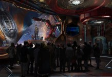 Epcot Guardians of the Galaxy concept art