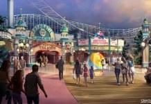 Pixar Pier concept art