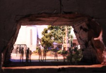 Entrance to Star Wars: Galaxy's Edge at Disneyland