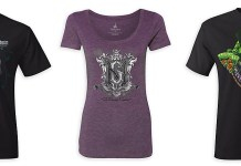 Haunted Mansion limited tees 2017