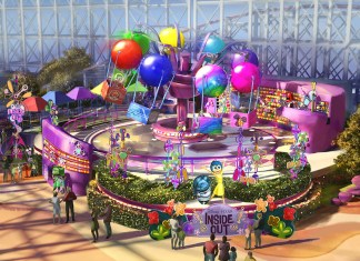 Concept art Inside Out Emotional Whirlwind
