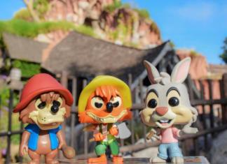Splash Mountain Funko Pop! set