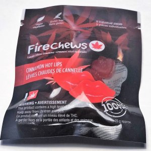 Fire Chews - Cinnamon Hot Lips (100 MG THC)