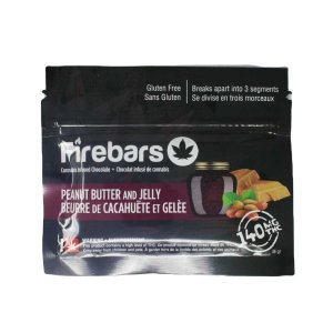 Fire Bars- Peanut Butter And Jelly (140 MG THC)
