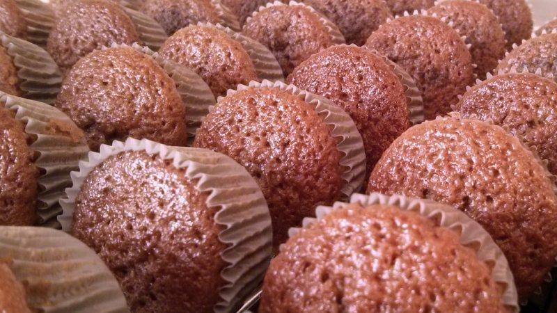 Receta: Magdalenas de chocolate