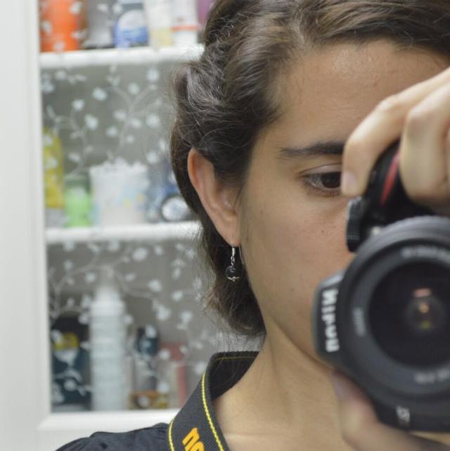 Selfie orejil con cámara pro :D