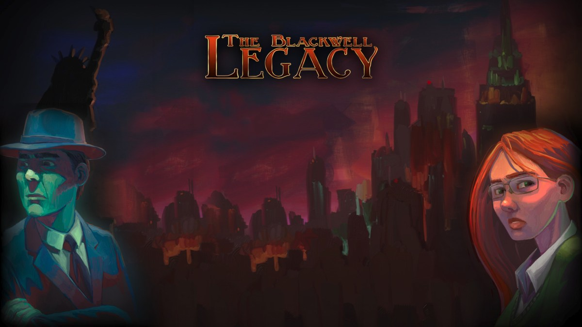 Wallpaper The Blackwell Legacy