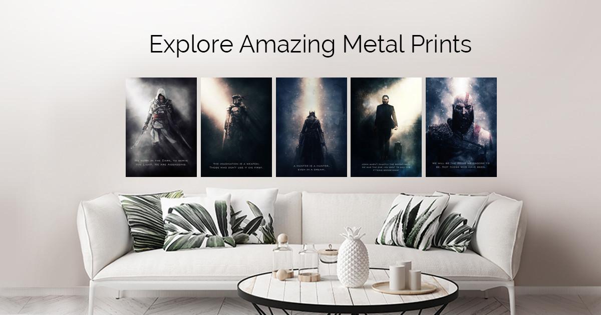 Tagline by Gab Fernando   metal posters
