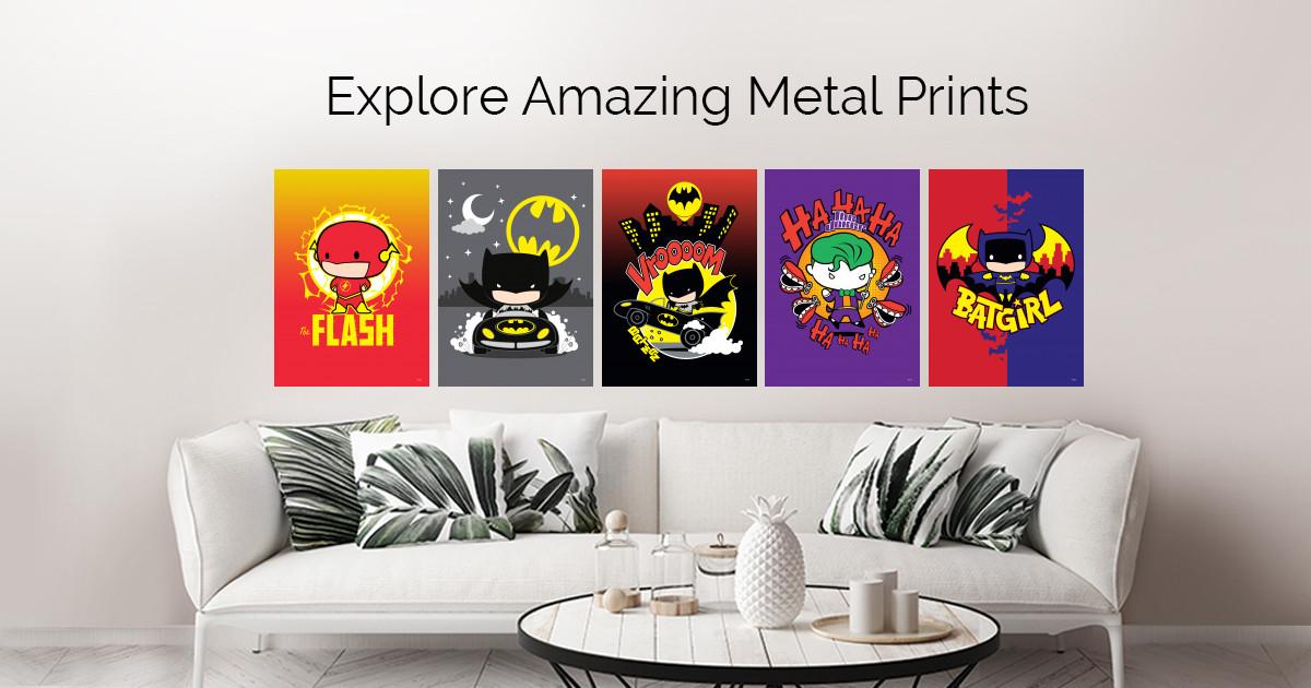 Dc Chibi by DC Comics   | metal posters
