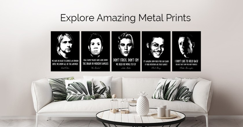 Music Legends by BGW Beegeedoubleyou | metal posters