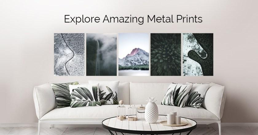 Landscapes by Michal Sadowski | metal posters
