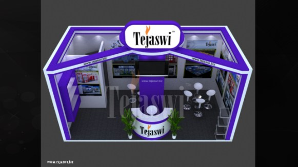 6X3 Exhibition Stall Design