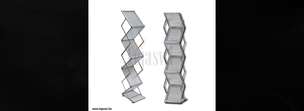 Catalogue Stands, Portable Brochure Stand, Folding Leaflet Stand, Magazine Rack, Mumbai, Delhi, India