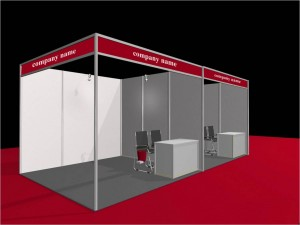 Octanorm Stall, System Stall
