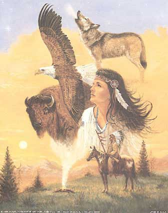 Native American Wolf Eagle Buffalo Native American Graphics For Facebook Tagged Facebook