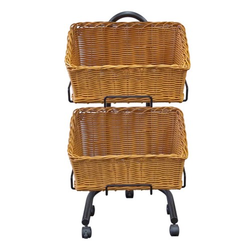 2 Rectangular basket