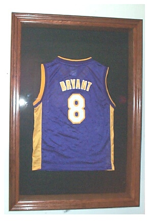 How To Frame A Basketball Jersey In A Shadow Box