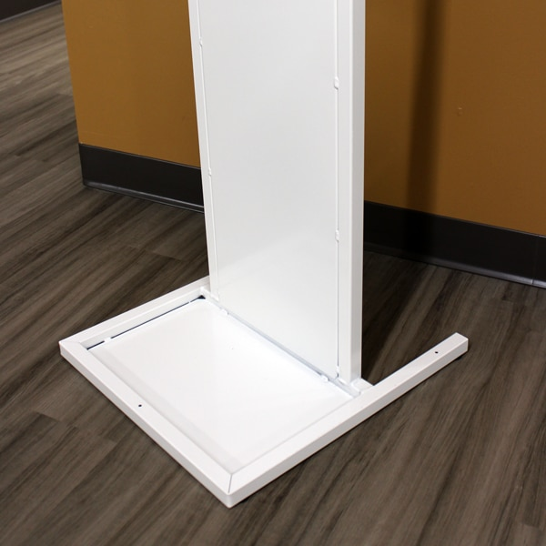 Lozier Sanitizer Stand--Weighted Base