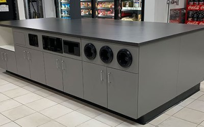 Convenience Store Beverage Island – Pardiac Shell