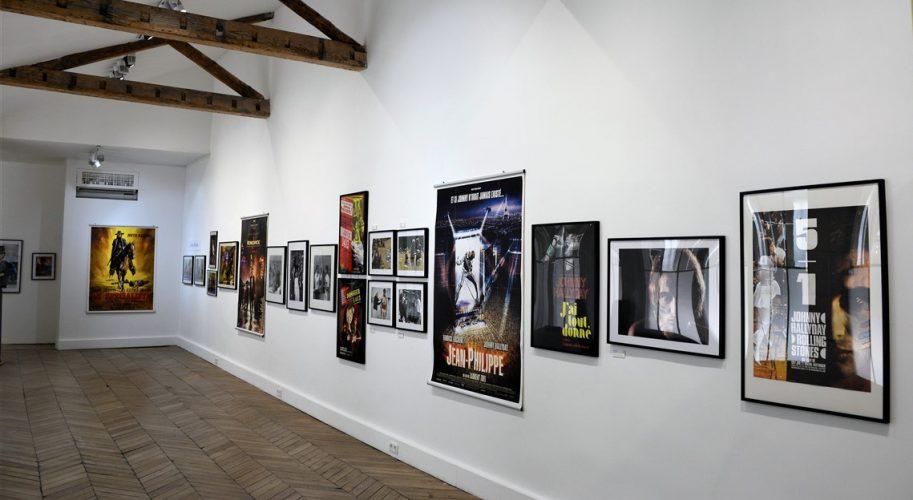 Exposition Johnny Hallyday Affiches Cinéma