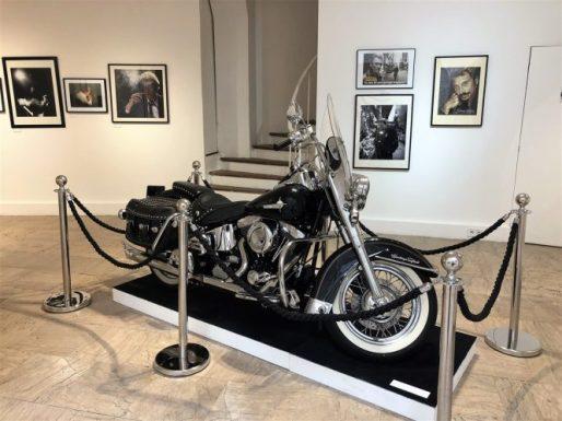Exposition Johnny Hallyday Moto