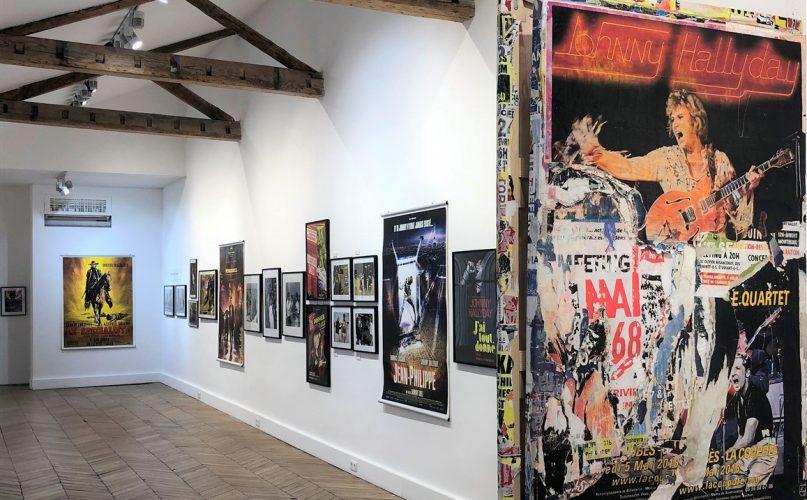 Exposition Johnny Hallyday Paris Galerie Joseph art
