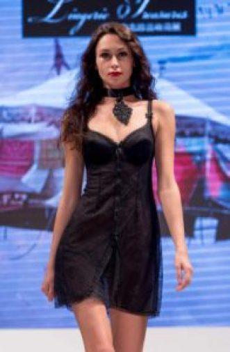 Shanghai Mode Lingerie Fashion Show Combiné Charmis 1960