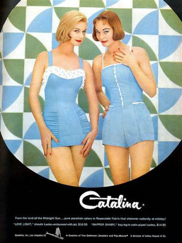 Exposition Pin-Up Catalina Publicité
