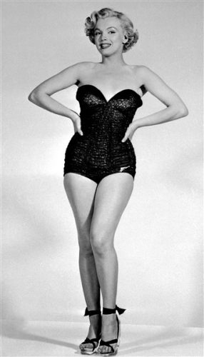 Exposition Pin-Up Marilyn Monroe Catalina Shooting