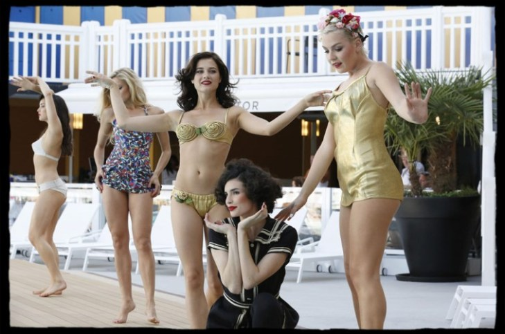 Piscine Molitor Maillots et Bikinis Vintage Collection Nuits de Satin