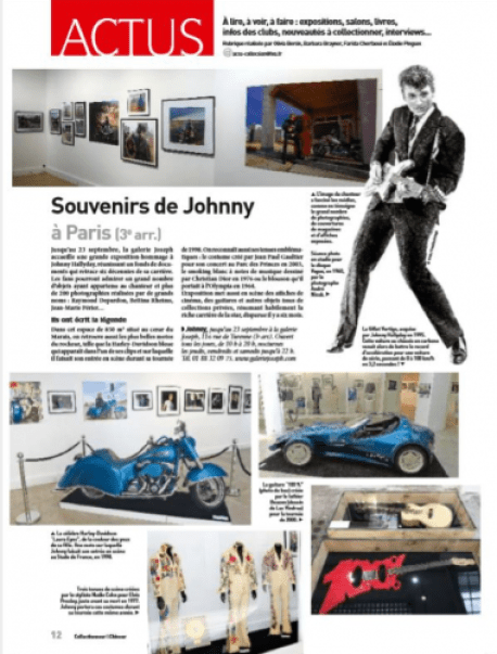 Exposition Johnny Collectionneur et Chineur