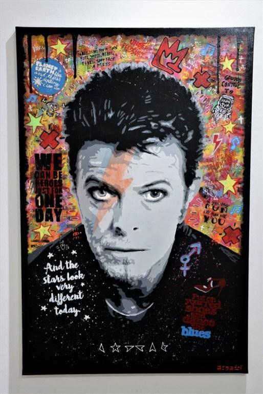 Exposition Expo Pop-Art Pop-Up Argadol David Bowie