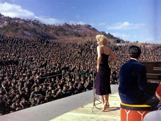 Marilyn Monroe en Corée - DR (2)