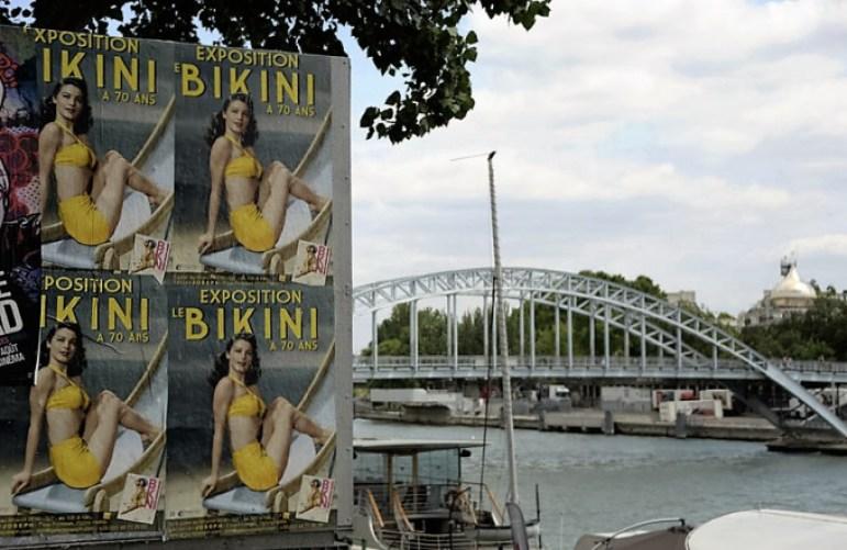 Exposition BIKINI Nuits de Satin Paris Affiche