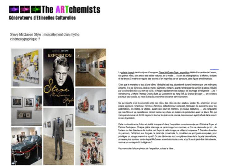 Steve McQueen The Art Chemists