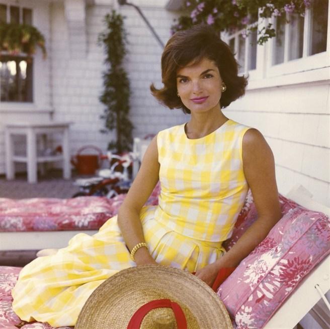 Jackie Kennedy robe vichy