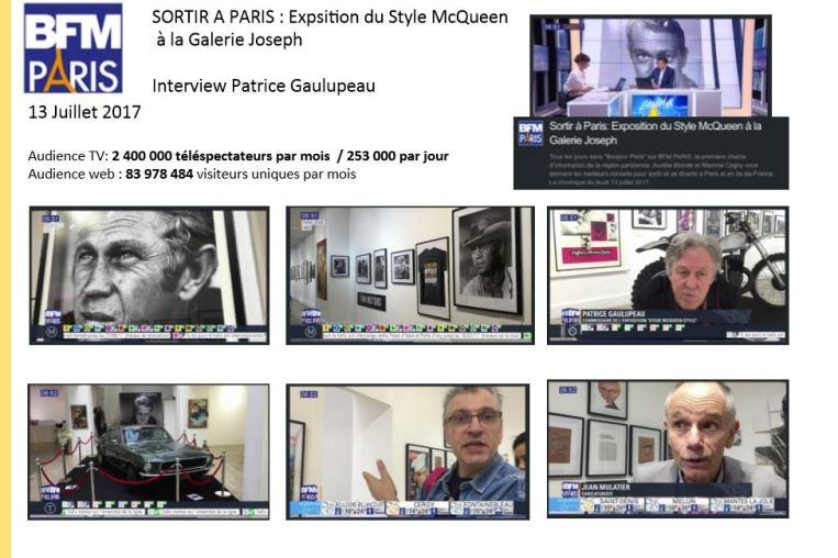 Steve McQueen BFM Paris