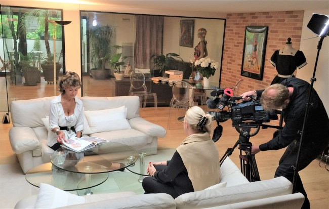 AFP Interview Ghislaine Rayer