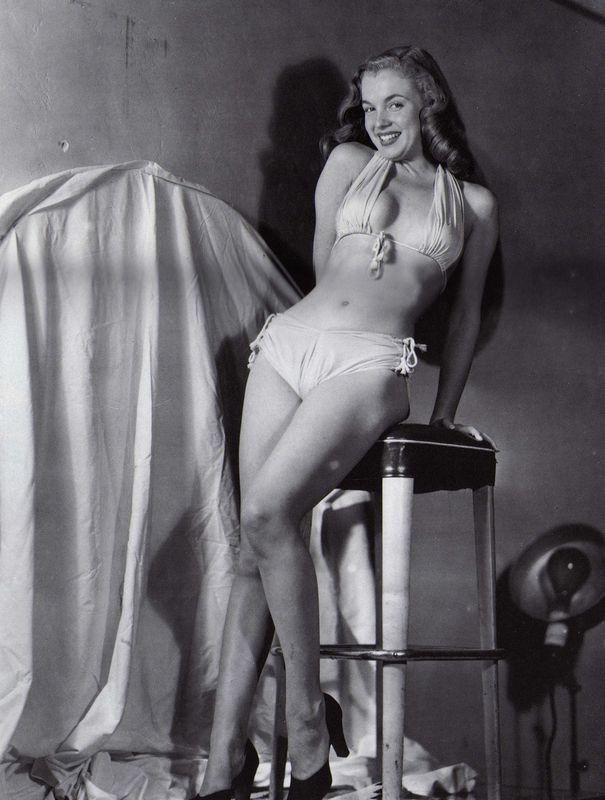 1946 série Bikini Blanc Bikini Jaune