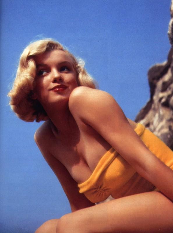 Marilyn en maillot jaune - 1950