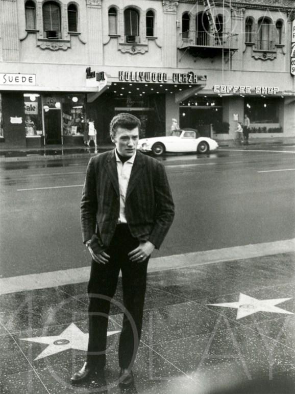 1962 Johnny Hallyday-Display-productions.com- Hollywood-Boulevard