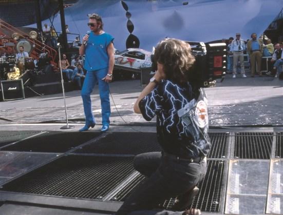 Johnny Hallyday-Patrice Gaulupeau-Parc des Princes-1993-