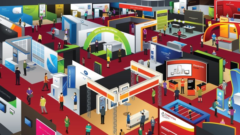 Types of Trade Show Display Booths
