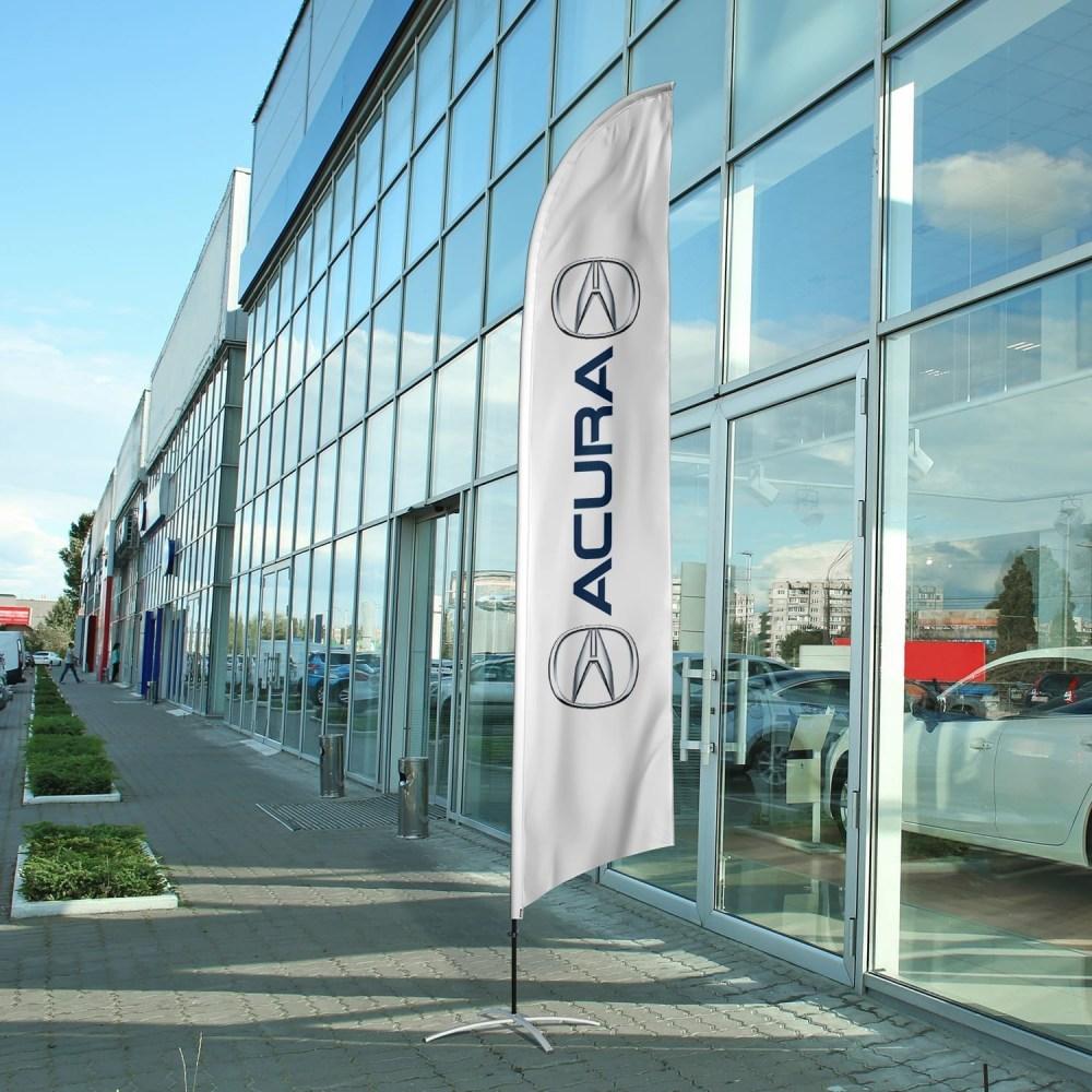 auto-dealership-flag-acura