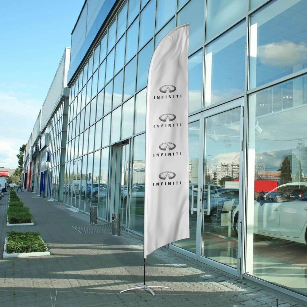 auto-dealership-flag-infiniti