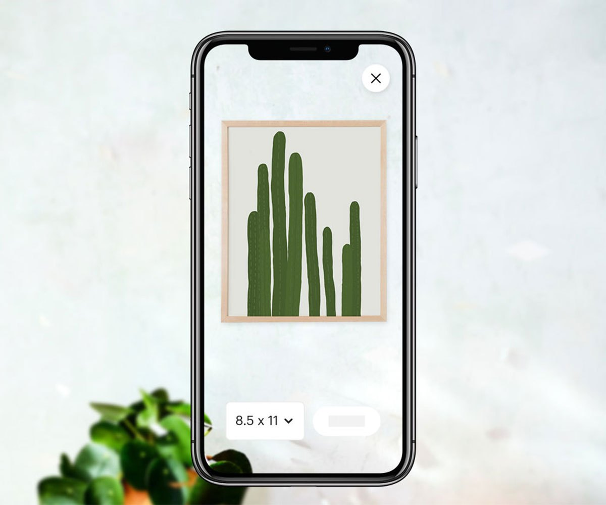 Etsy adds an AR shopping feature on iOS designed for use with wall art.