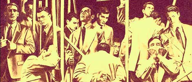 Mario Benedetti - Trece hombres que miran